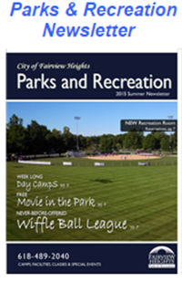 Parks and recreation events 2015